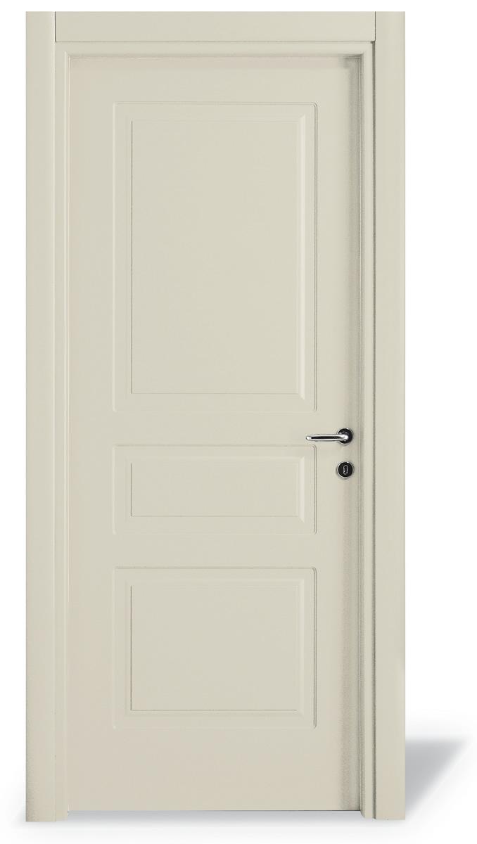 Porta interna 3 pannelli pantografato - Cieca