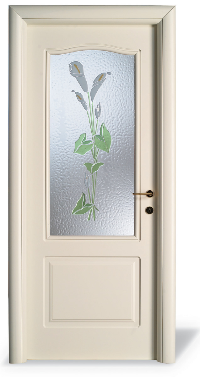 Porta interna LS pantografato - vetro