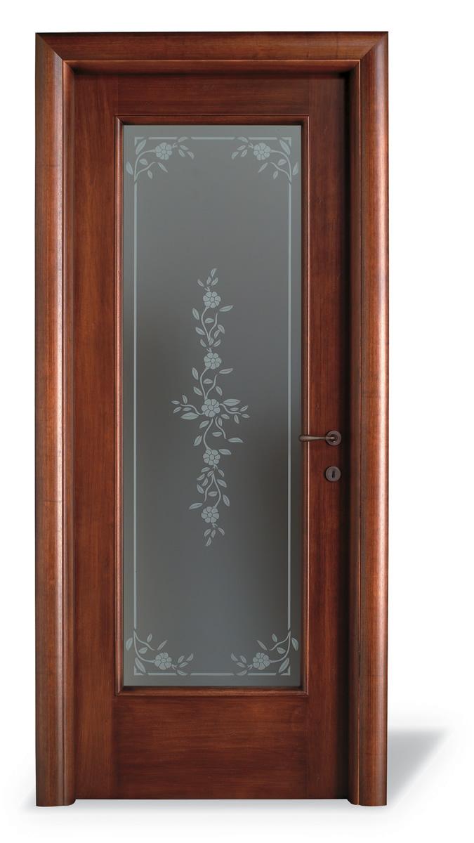 Porta interna H15 tanganika anticato - Vetro